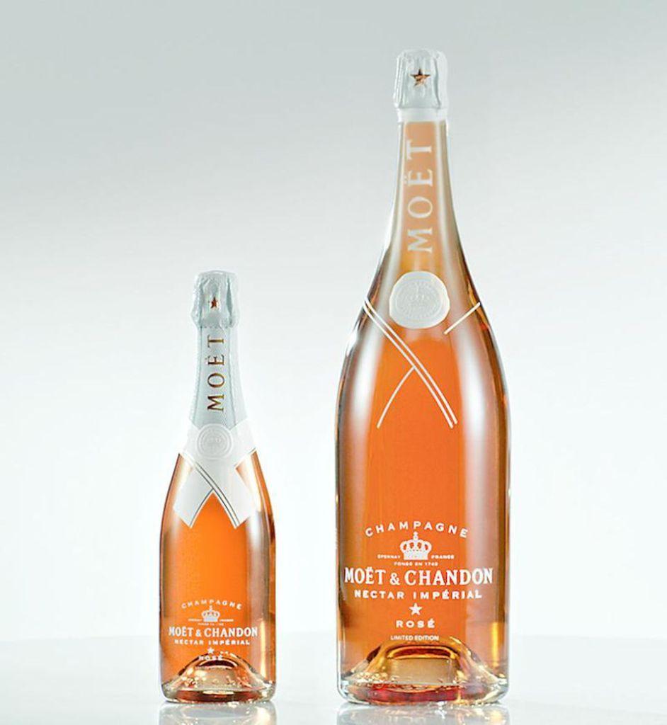 Virgil Abloh Limited-Edition Moët & Chandon Champagne Bottle