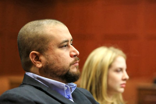 Judge in George Zimmerman stalking case: 'I hate to keep saying that name out loud'