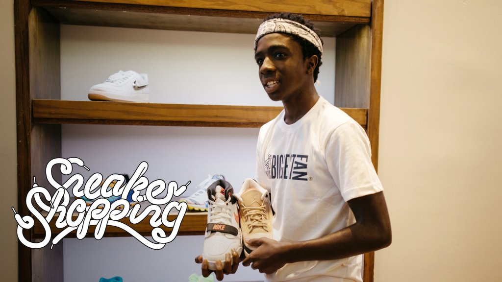 CALEB MCLAUGHLIN SNEAKER SHOPPING
