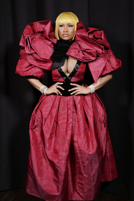 Nicki Minaj 2018 NYFW Marc Jacobs Fashion Show