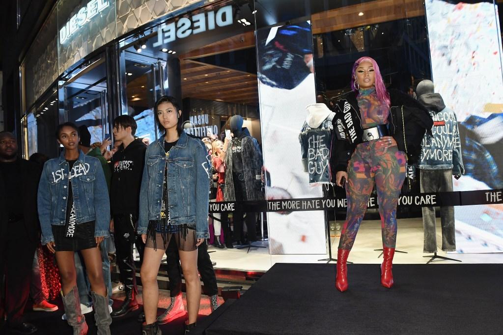 Nicki Minaj Face of Diesel Anti Cyber-Bullying Campaign Twitter Reacts