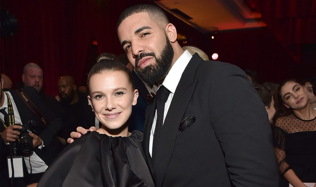 Stranger Things Star Millie Bobbi Brown Defends Friendship With Drake
