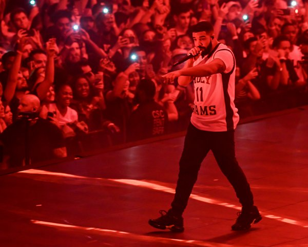 Drake Performs at Capital One Arena in Washington, D.C.