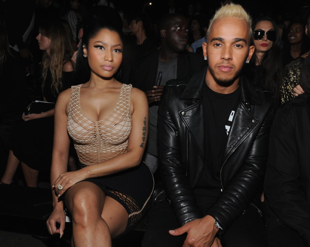 Social Media Post Fuel Nicki Minaj & Lewis Hamiltion Dating Rumors