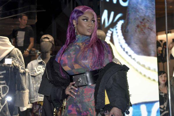 Nicki Minaj at the new Diesel Capsule Collection presentation in Milan