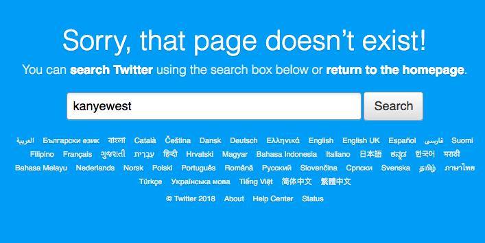 kanye west twitter deleted