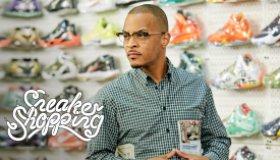 T.I. Goes Sneaker Shopping