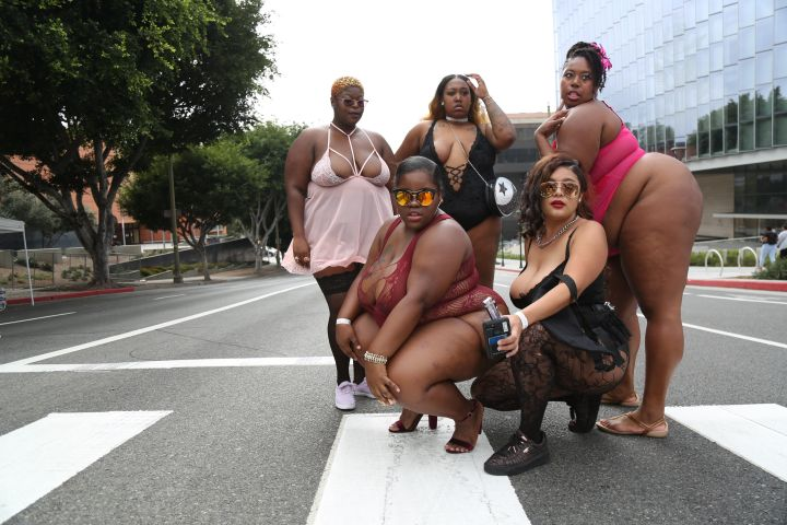 This year's SlutWalk participants did not come to play.
