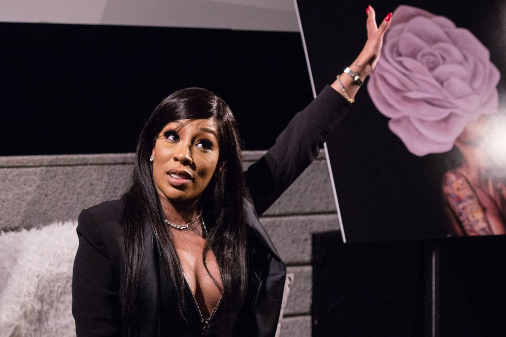 Paris Nearly Drowns K.Michelle With Her Drink