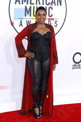 2018 American Music Awards Arrivals at Microsoft Theater.