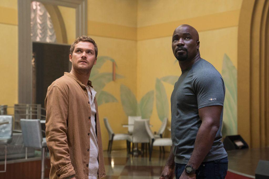 Iron Fist and Luke Cage from Luke Cage Season 2