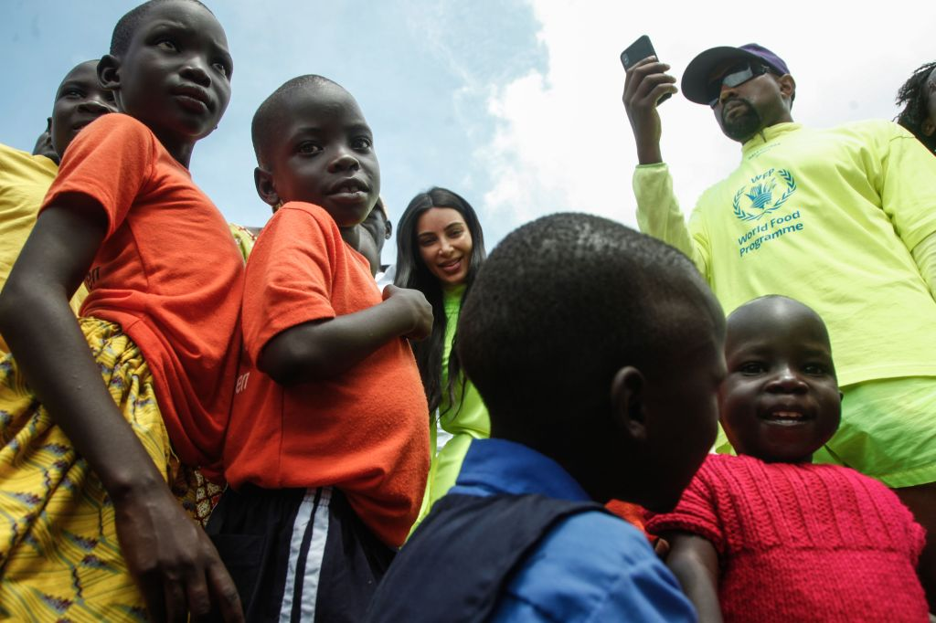 UGANDA-US-PEOPLE-KANYE