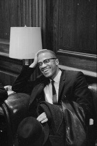 Malcolm X Laughs