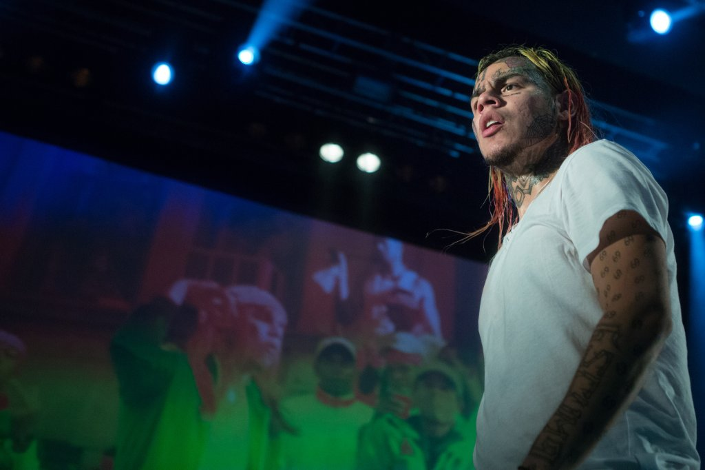 Tekashi 6ix9ine live in Oslo, Norway.