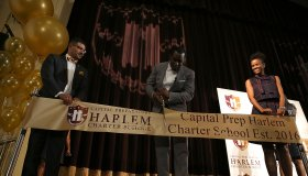 Sean 'Diddy' Combs Officially Opens Capital Prep Harlem Charter School