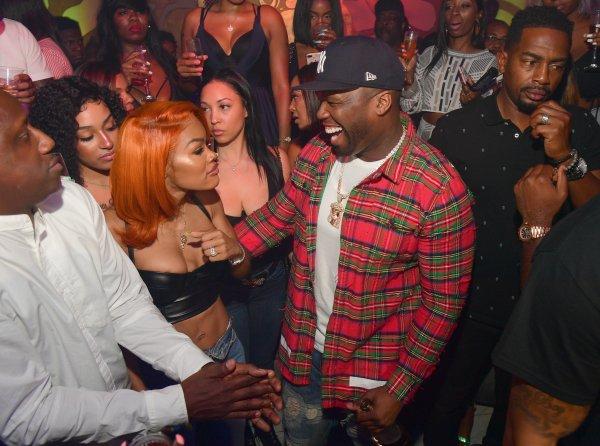 50 Cent Hosts Revel