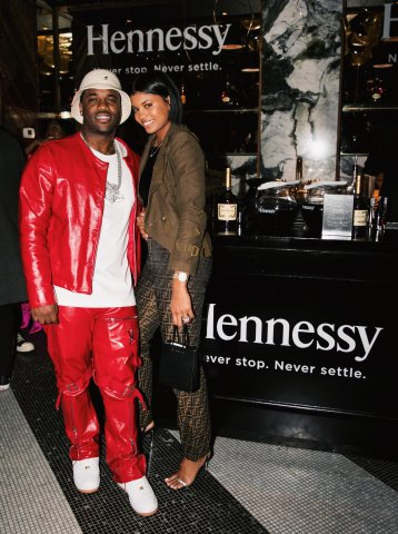 A$AP Ferg Hennessy party