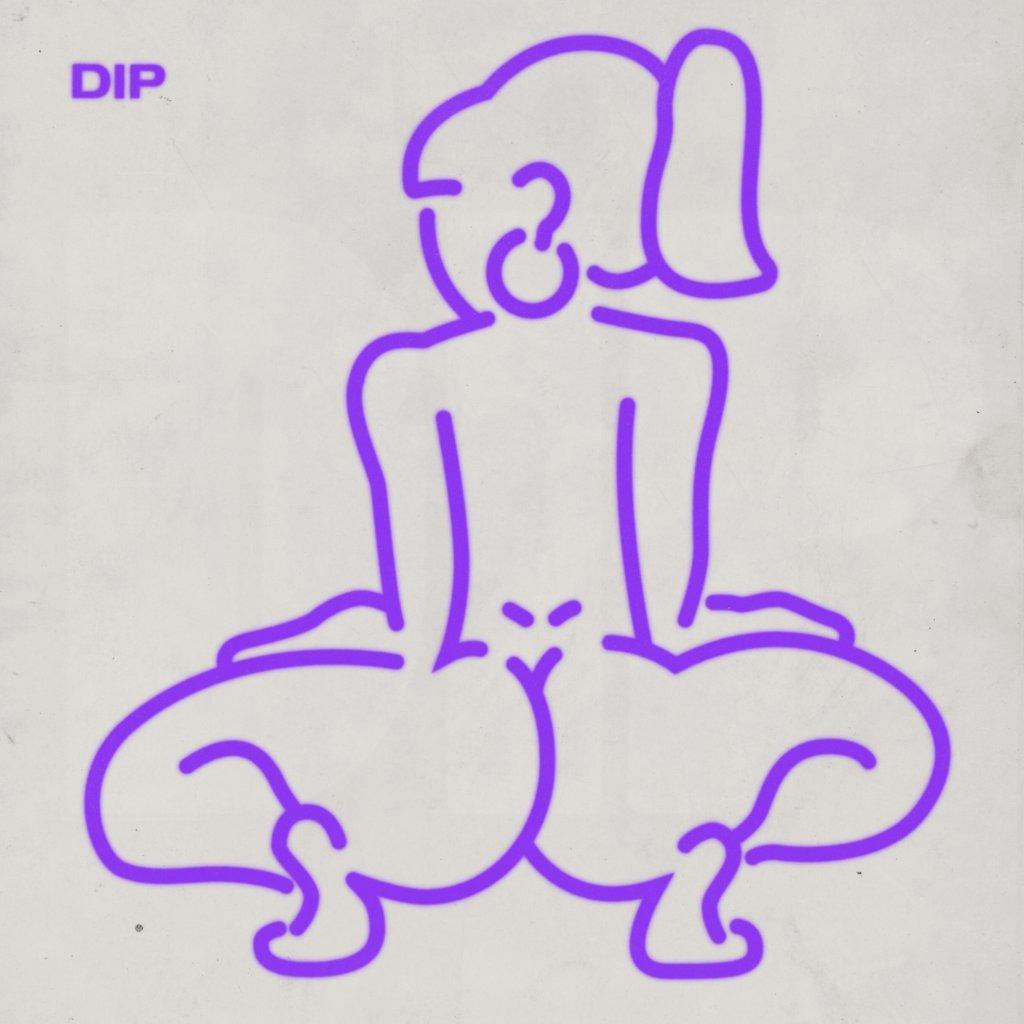 Tyga Dip Remix artwork