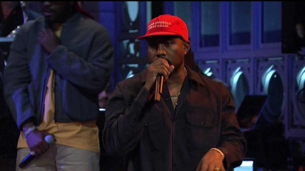 Kanye West on SNL