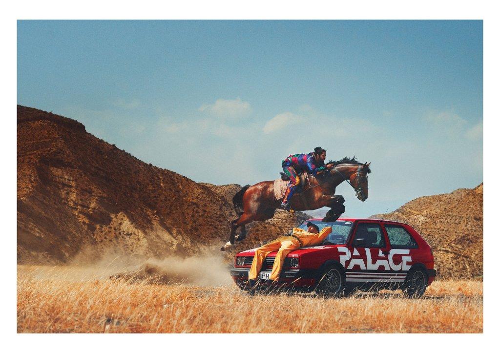 Palace x Polo