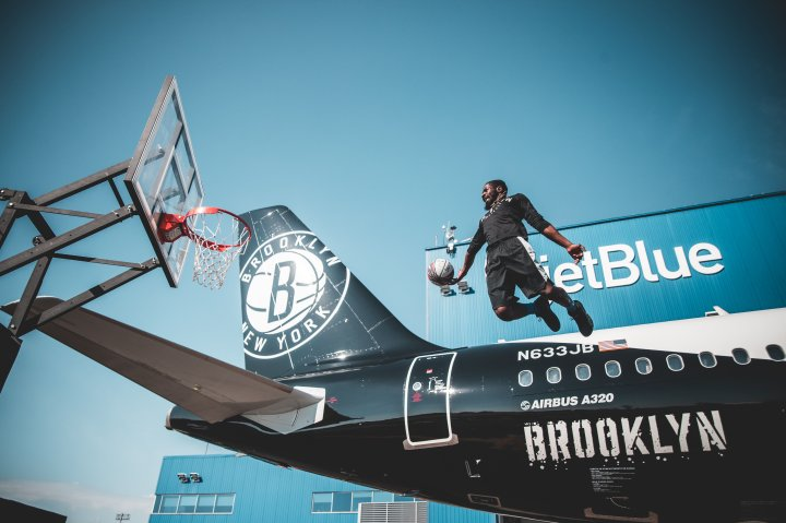 Brooklyn Nets Jetblue Aircraft and City Edition Uniforms