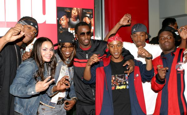 Sean P. Diddy Combs Introduces the Release of Da Band's Album Too Hot for TV