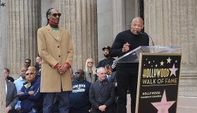 Snoop Dogg Honored With Star On The Hollywood Walk Of Fame