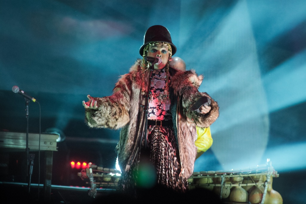 Lauryn Hill Performs At AccorHotels Arena In Paris