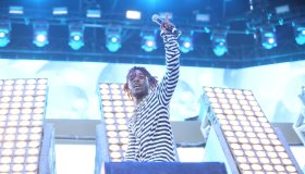 Lil Uzi Vert seen performing at Coachella weekend 2 Day 3
