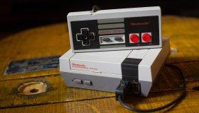 A Nintendo Classic Mini 'Nintendo Entertainment System'...