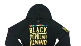 Black By Popular Demand Women's Black Crop Hoodie
