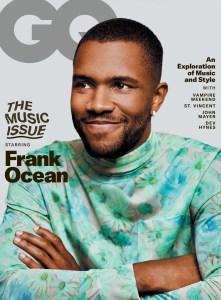 Frank Ocean GQ cover