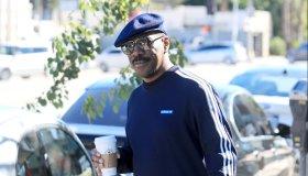 Eddie Murphy goes solo for a coffee in LA