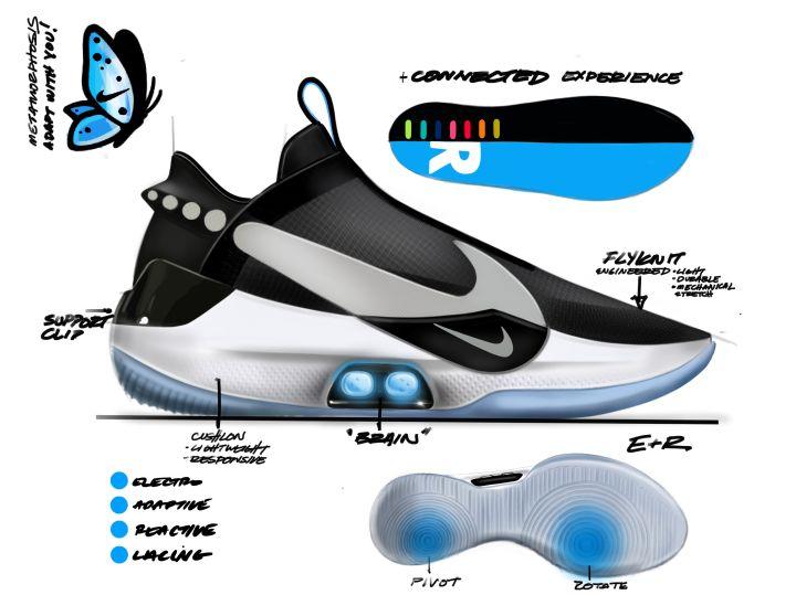 Nike Adapt BB Self Lacing Sneakers