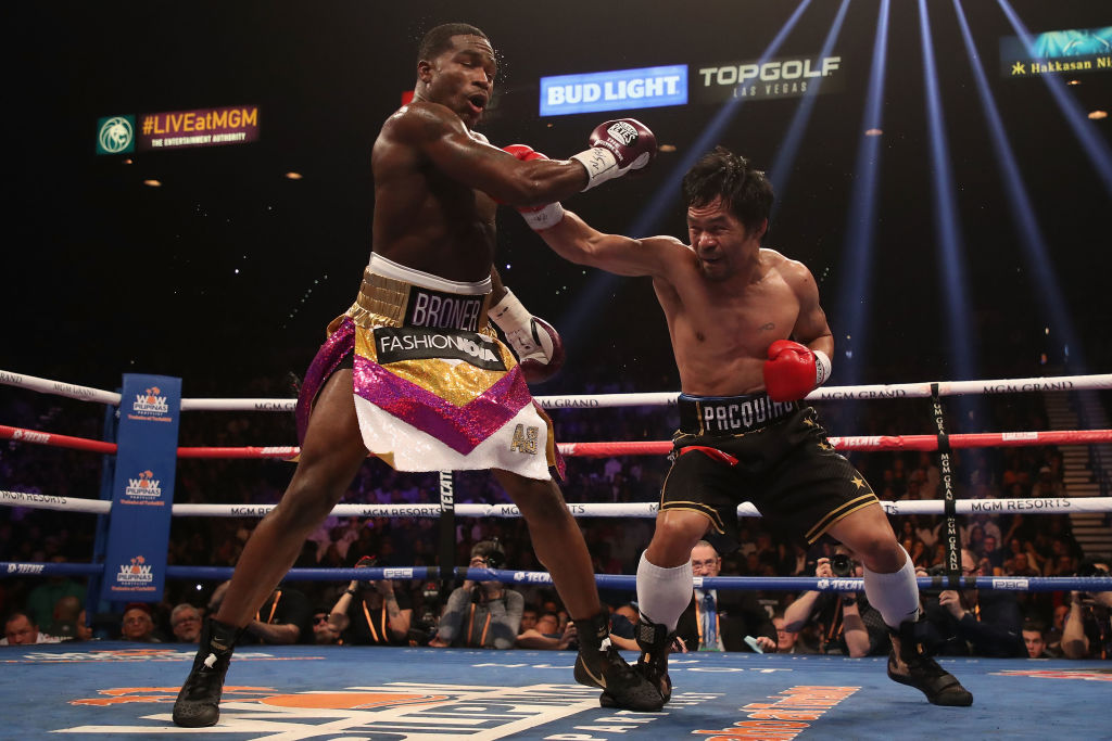 Twitter Clowns Adrien Broner After Losing To Pacquiao