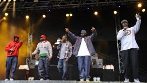 Wu-Tang Clan performing live at City Park
