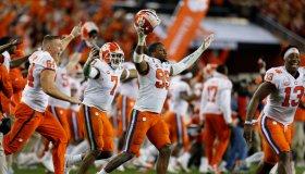College Football Playoff National Championship - Alabama versus Clemson