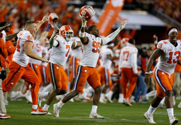 College Football Playoff National Championship - Alabama versus Clemson