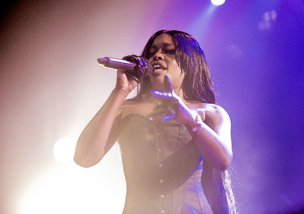 Azealia Banks performs at Manchester O2 Ritz