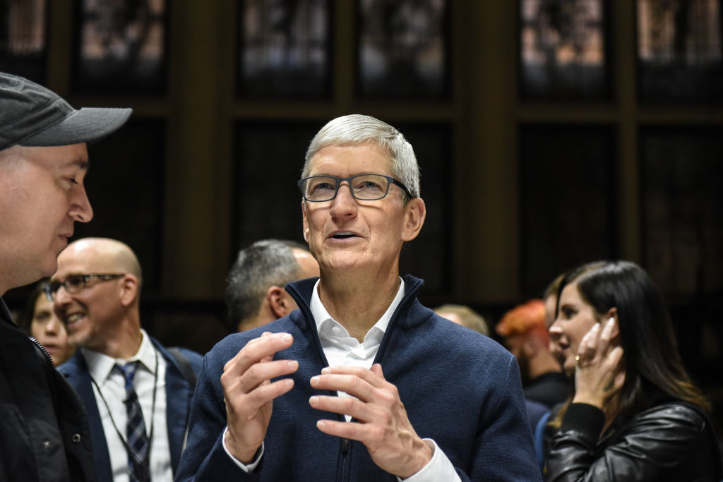 Tim Cook Extremely Optimistic About Apple's TV Streaming Service