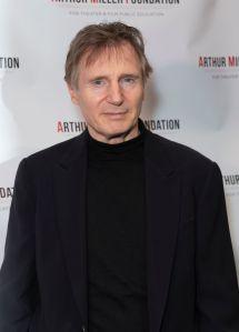 Liam Neeson attends 2018 Arthur Miller Foundation Honors...