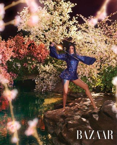 Cardi B in Harper's Bazaar