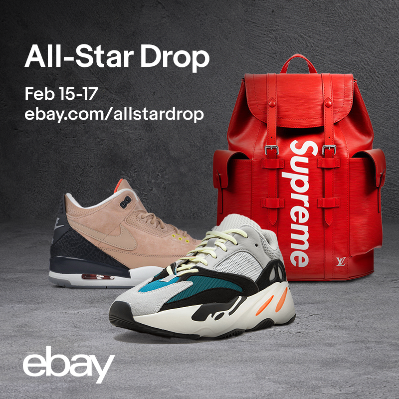 EBAY ALL-STAR WEEKEND 2019 DROP