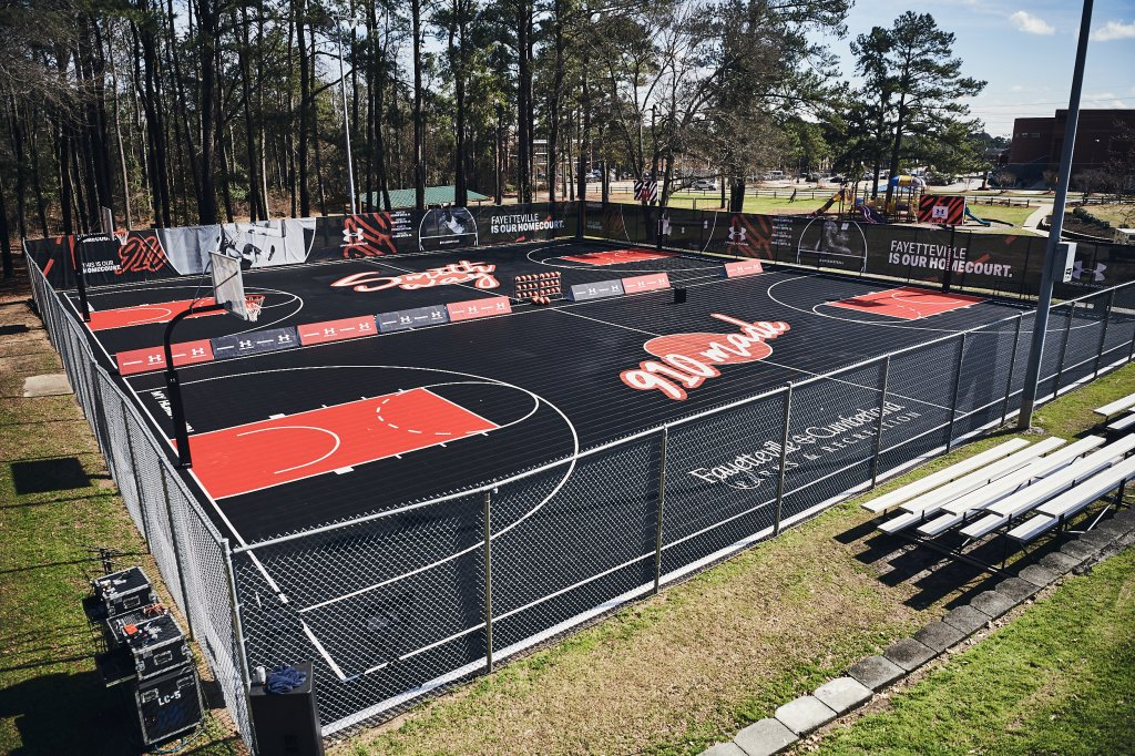 DSJ & Under Armour Basketball Courts