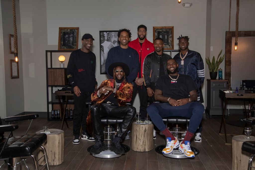 HBO's The Shop - LeBron and group