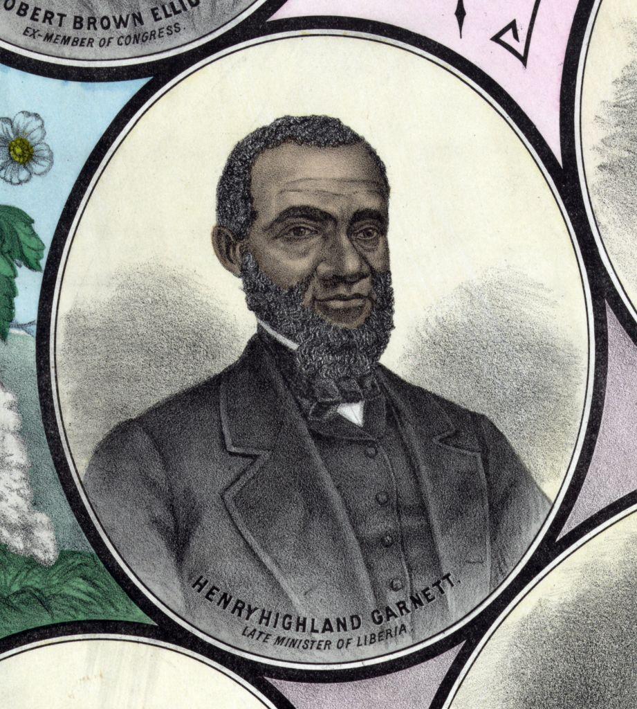 Henry Highland Garnet.