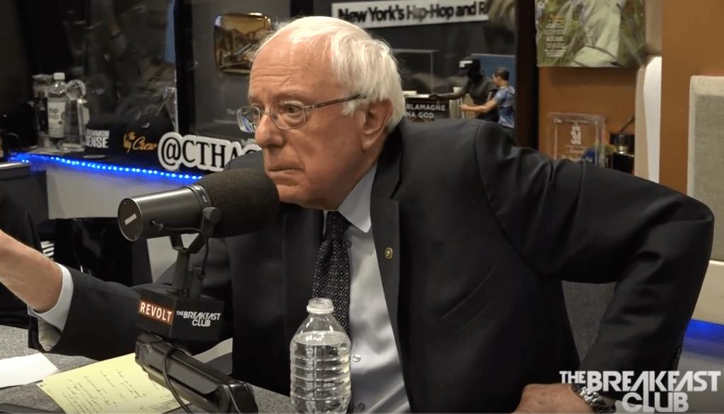 Bernie Sanders on The Breakfast Club