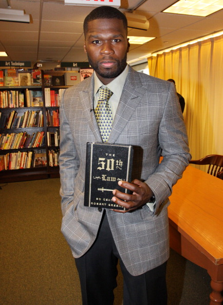 """Sharing stories from his tumultuous life, 50 Cent's 'The 50th Law' is described as a """"bible"""" for how to succeed in life based on this principle: """"fear nothing."""""""