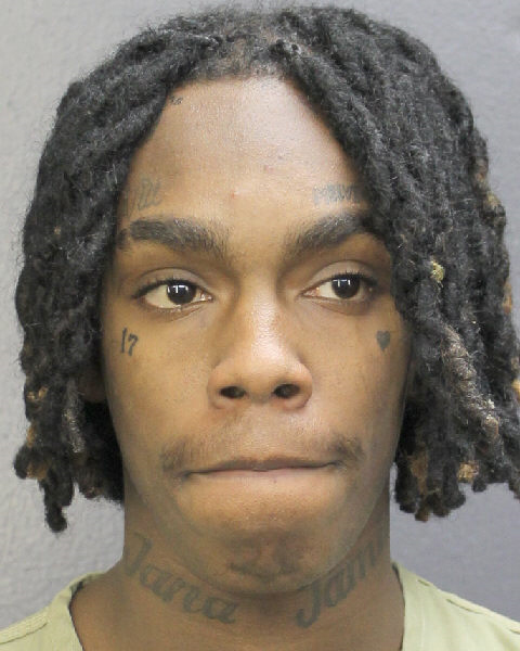 YNW Melly Police Booking Photo