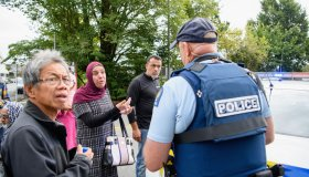 Christchurch In Lockdown Following Fatal Mosque Shooting